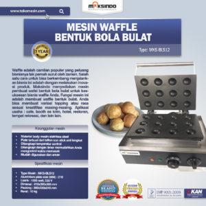 Jual Mesin Waffle Bentuk Bola Bulat (BLS12) di Malang