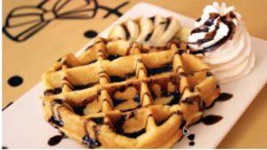 Jual Mesin Waffle Bentuk Hello Kitty (Kitty2) di Malang