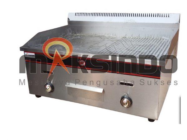 Jual Pemanggang Griddle Flat-Grooved Gas (GG722) di Malang