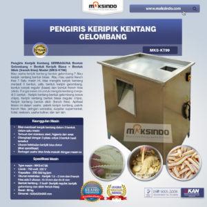 Jual Pengiris Keripik Kentang Gelombang (KT99) di Malang