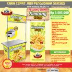 Paket Usaha Kentang Crispy Program BOM