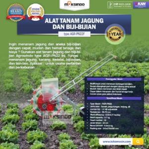 Jual Alat Tanam Jagung dan Biji-Bijian AGR-PN15 di Malang