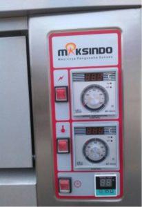 Jual Mesin Oven Roti Gas 2 Rak 4 Loyang (GO24) di Malang