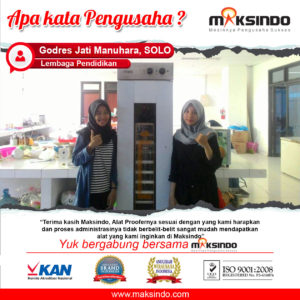 Jual Mesin Proofer Pengembang Roti (PR16) di Malang