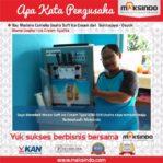 Ice Cream Syafira : Usaha Saya Tambah Maju dengan Es Krim Maksindo