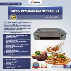 Jual Pemanggang Sate – BBQ GAS SMOKELESS (005BBQ) di Malang