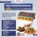 Jual Mesin Pemanggang Sate – BBQ 4 Tungku (Gas) di Malang