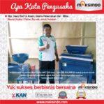 Pakan Ternak Untuk Sekolah : Usaha Produksi Saya Lebih Cepat dengan Mesin Mixer Pelet Maksindo