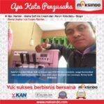 Ice Cream Ramlan : Dengan Mesin Ice Cream Maksindo Produksi Ice Cream Makin Cepat