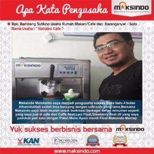 Hallobro Cafe : Usaha Rumah Makan Sukses dengan Soft Ice Cream Maksindo