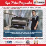 Kripik Buah Exprass : Usaha Produksi Kripik Saya Sangat Memuaskan dengan Mesin Vacuum Frying Maksindo