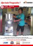 Bakso Merdeka : Praktek dengan Mesin Cetak Bakso Maksindo Saya Semakin Optimis Usaha Saya Akan Maju