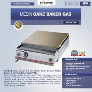 Jual Mesin Cake Baker Gas (MTB45) di Malang