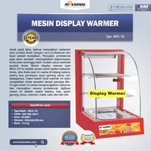 Jual Mesin Diplay Warmer (MKS-1W) di Malang