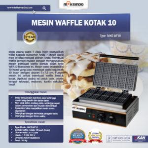 Jual Mesin Waffle Kotak 10 (WF10) Di Malang
