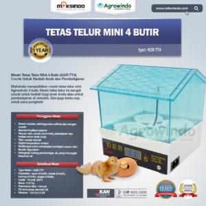 Jual Tetas Telur Mini 4 Butir (AGR-TT4) di Malang