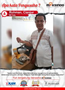 IM Cafe : Pelayanan Semakin Lancar Karena Mesin Ice Crusher Maksindo