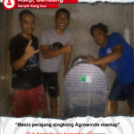 Keripik Kang Isur : Mesin Perajang Singkong Agrowindo Mantap