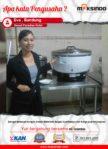 Grand Paradise Hotel : Dengan Rice Cooker Maksindo Memasak di Hotel jadi Lebih Cepat dan Memuaskan