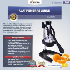 Jual Alat Pemeras Jeruk Manual (MJ1001) di Malang