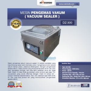 Jual Mesin Vacuum Sealer (DZ300) di Malang