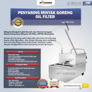 Jual Penyaring Minyak Goreng Oil Filter (OF40) di Malang