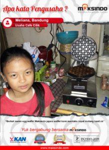 Cafe Cilik : Mesin Egg Waffle Mantap