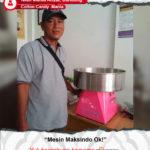 Cotton Candy Mania : Mesin Maksindo Memang Ok