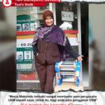 Yuni's Sistik : Mesin Maksindo Terbukti Mampu Membantu Pengusaha UKM