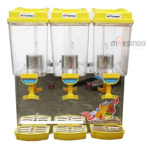 Jual Mesin Juice Dispenser 3 Tabung (17 Liter)-ADK-17×3 di Malang