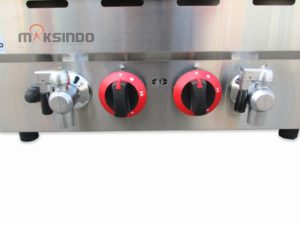 Jual Counter Top 2-Tank 2-Basket Gas Fryer di Malang