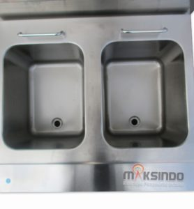 Jual Counter Top 2-Tank 2-Basket Gas Fryer di Malang