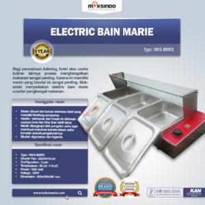 Jual Electric Bain Marie  (Penghangat Masakan) MKS-BMR3 di lampung