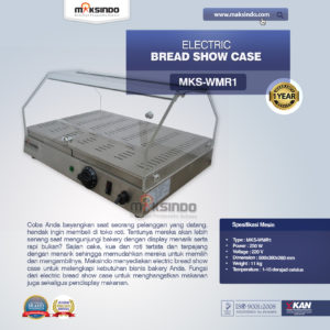 Jual Electric Bread Show Case di Malang