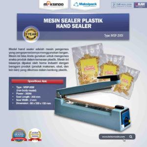 Jual Mesin Hand Sealer MSP-200I di Malang