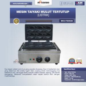 Jual Mesin Taiyaki Mulut Tertutup (Listrik) di Malang