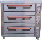 Mesin Oven Roti Gas 3 Rak 9 Loyang (GO39)