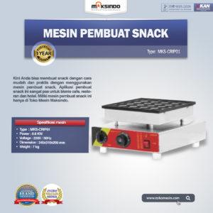 Jual Mesin Pembuat Snack MKS-CRIP01 di Malang