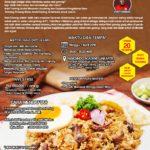 Training Usaha Varian Nasi Goreng, Minggu 1 April 2018