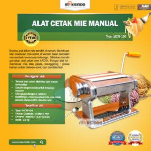 Jual Cetakan Mie Manual Rumah Tangga ARDIN di Malang