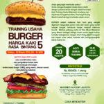 Training Usaha Burger, 10 Maret 2018