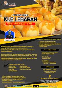Training Usaha Kue Lebaran, 5 Mei 2018