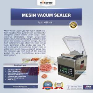Jual Mesin Vacum Sealer MSP-V26 di Malang