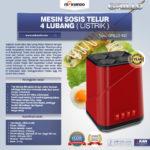 Jual Mesin Sosis Telur 4 Lubang Grillo-400 di Malang