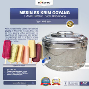 Jual Alat Es Krim Goyang MKS-55G di Malang