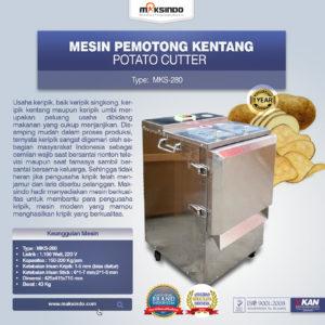 Jual Mesin Perajang Keripik Kentang dan French Fries MKS-280di Malang