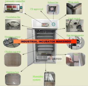 Jual Mesin Tetas Telur Industri 528 Butir (Industrial Incubator) di Malang