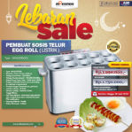 Jual Mesin Pembuat Egg Roll (Listrik) di Malang