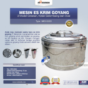 Jual Alat Es Krim Goyang MKS-55GO di Malang