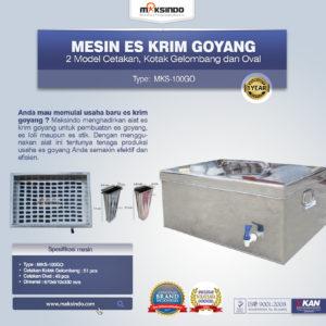 Jual Mesin Es Krim Goyang MKS-100GO di Malang